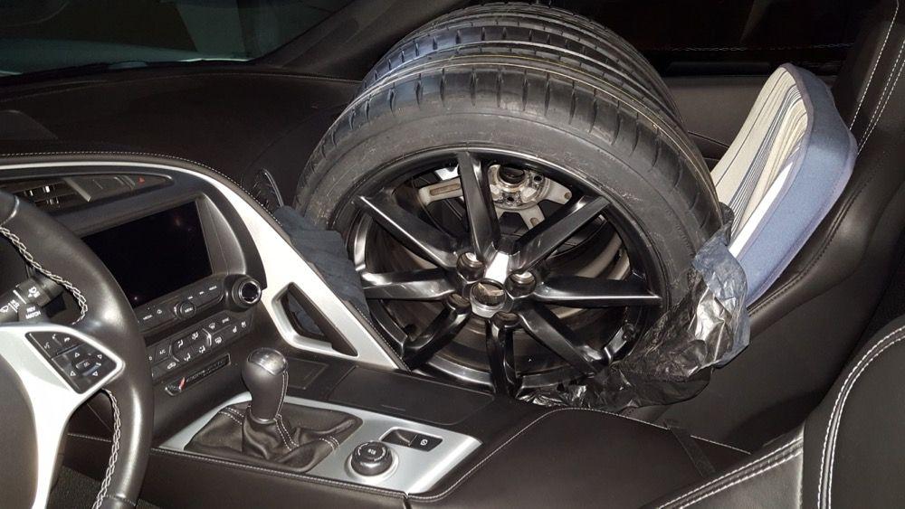 pneus dans corvette 2