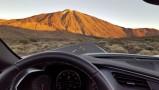 Levé de soleil au Teide et afficheur tête haute [278]
