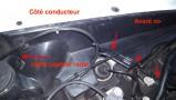 Câble capteur bien fixé [415]