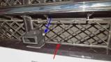 Vis inclinaison capteur (bleu) et collier de fixation [402]